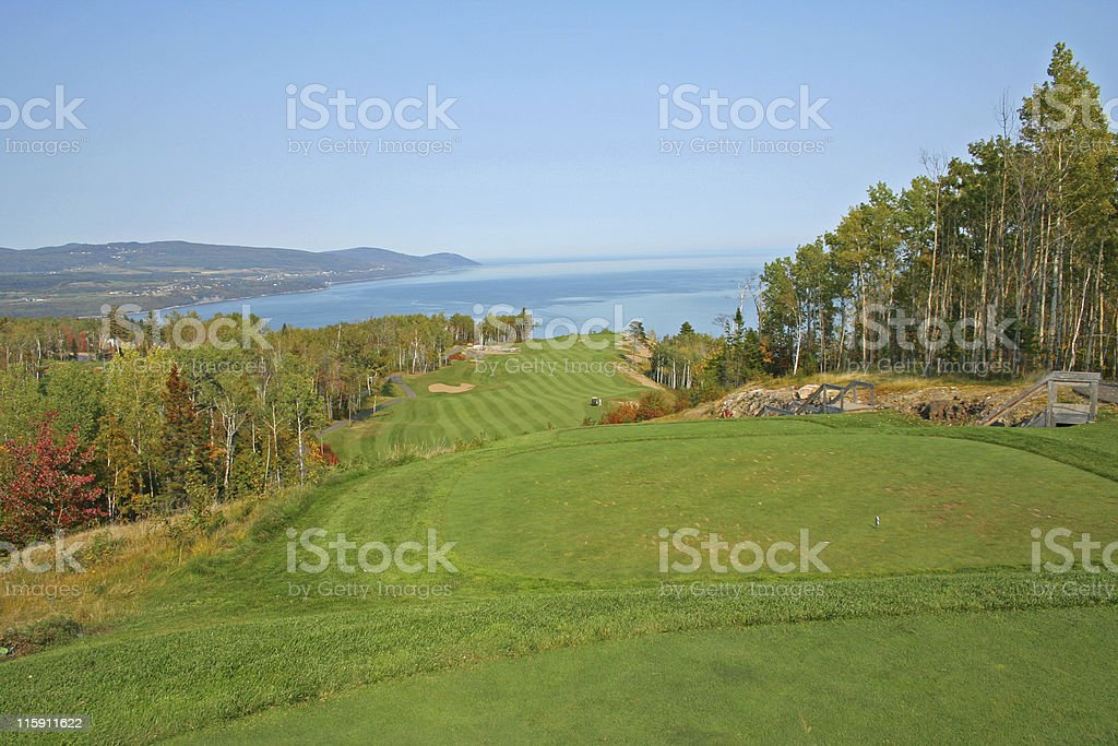 golf landscape royalty-free stock photo