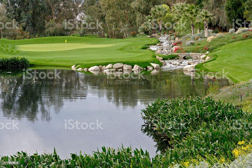 Golf Landscape stock photo