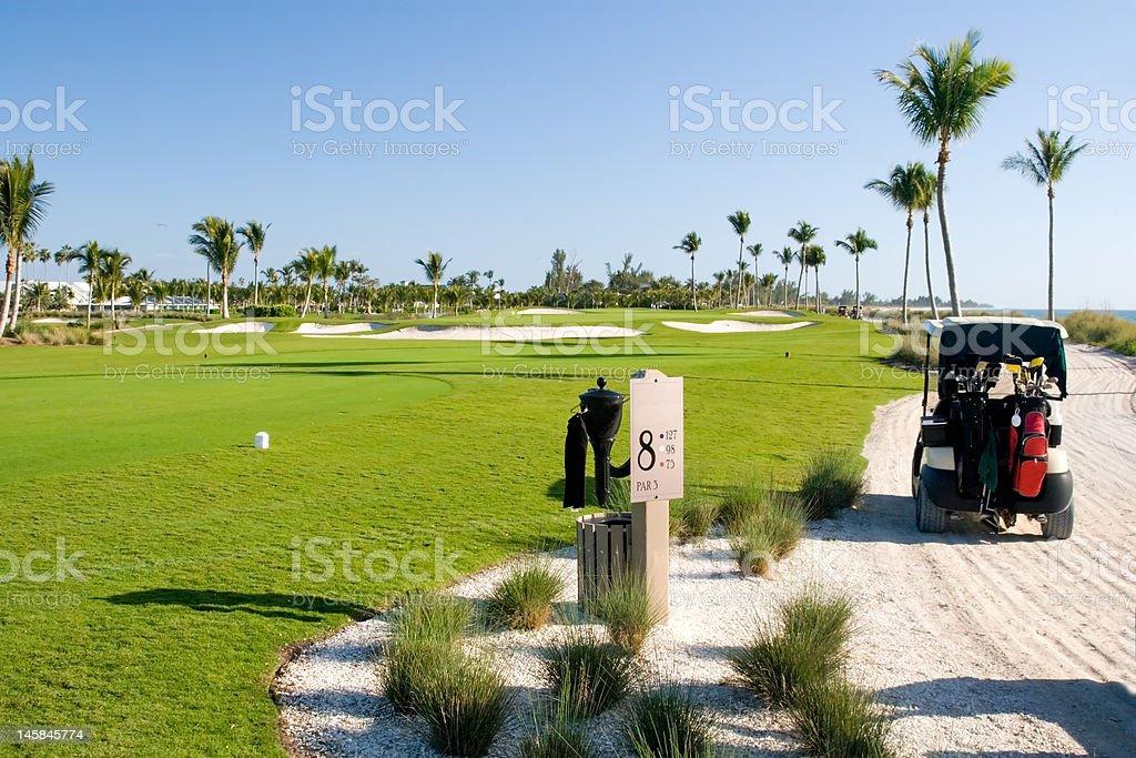 Golf Links stock photo