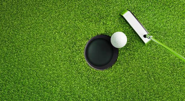 Golf Motiv - Close-up stock photo