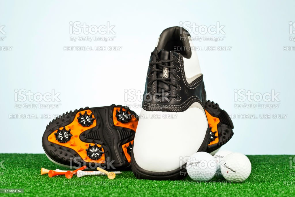 Golf Necessities royalty-free stock photo