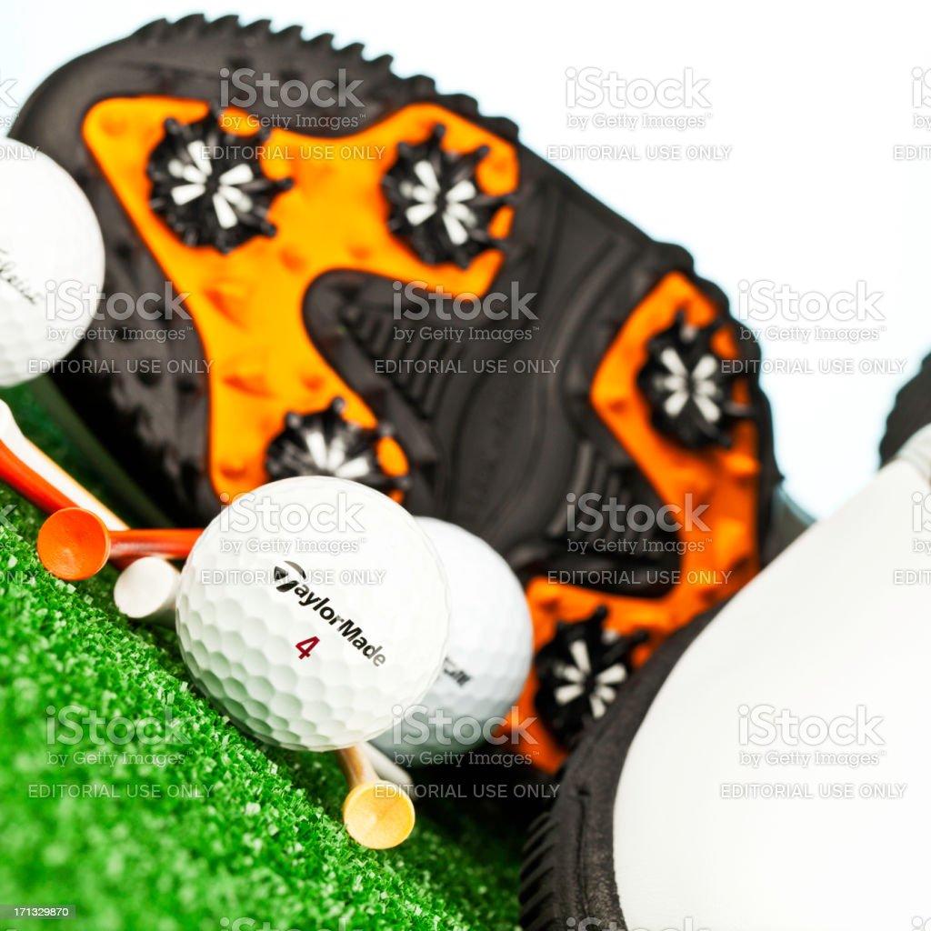 Golf Necessities royalty-free stock photo