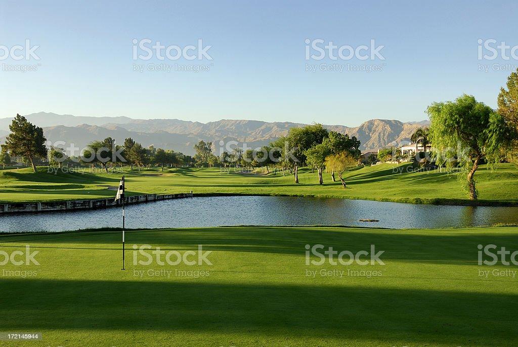 Golf Palm Springs stock photo