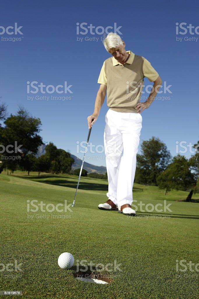 Golf royaltyfri bildbanksbilder