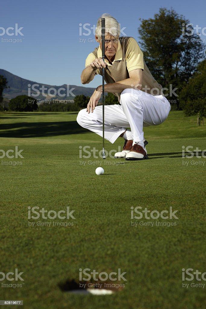 Golf royalty free stockfoto