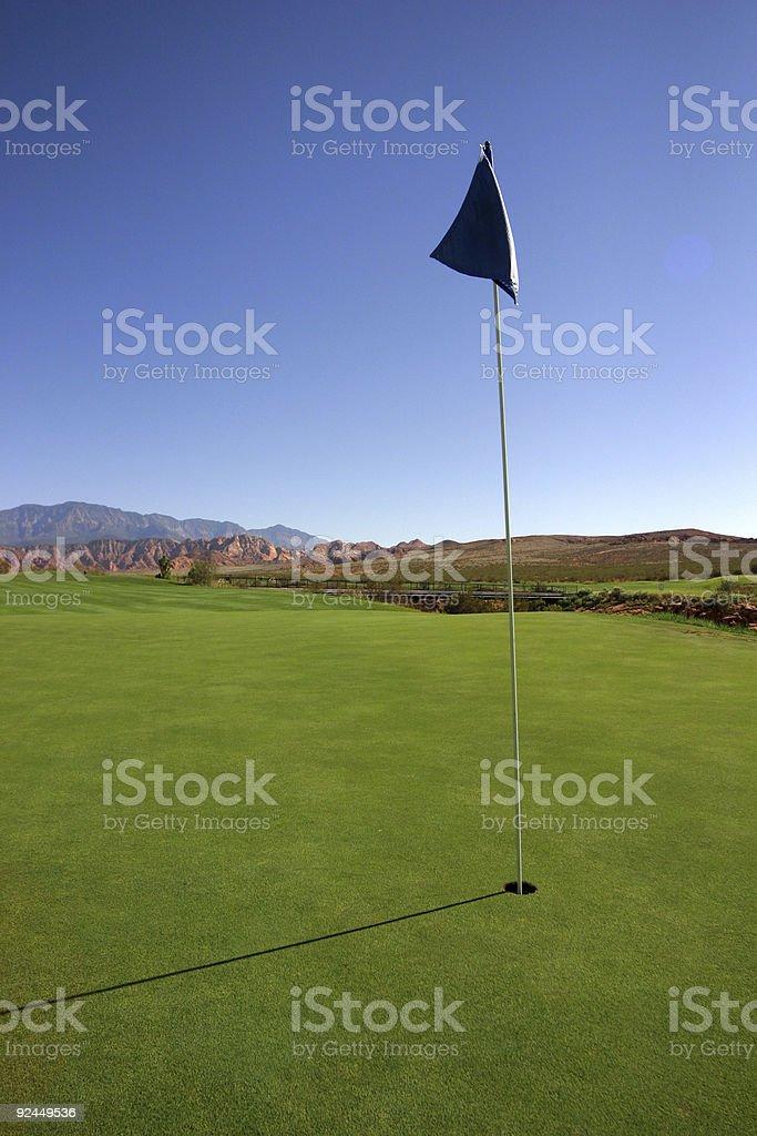 Golf stock photo