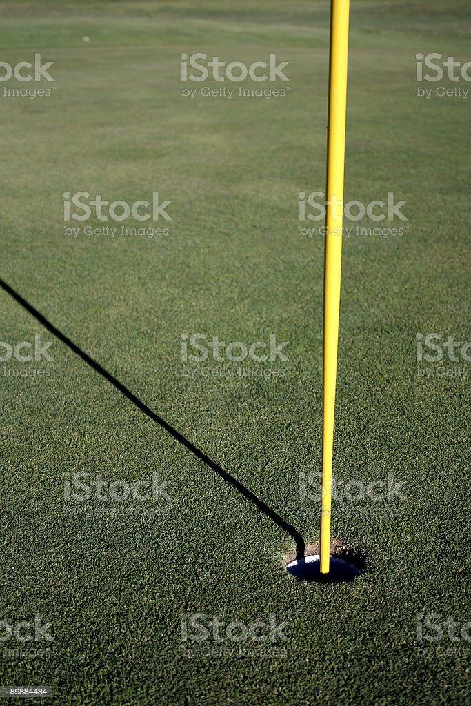 Golf polos y Sombra foto de stock libre de derechos
