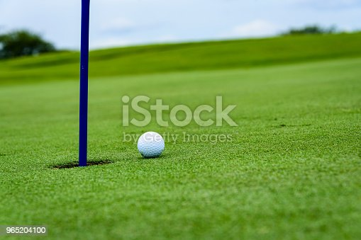 Golf Putting Detail Stock Photo & More Pictures of Big Island - Hawaii Islands