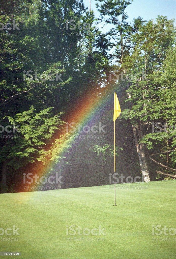 Golf-rainbow – Foto