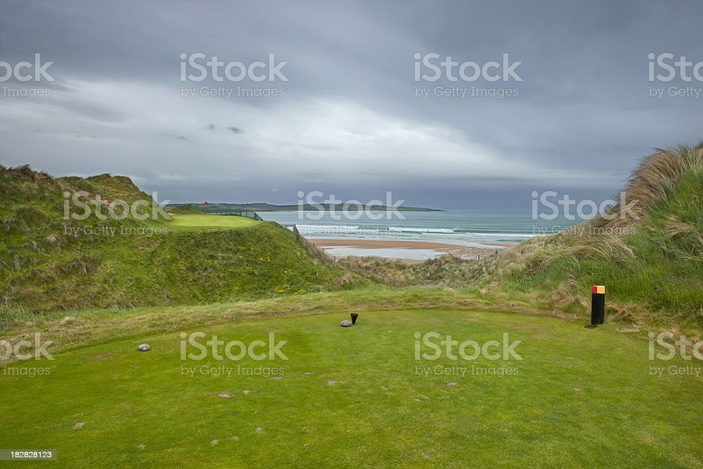 Golf Resort in Ireland stock photo