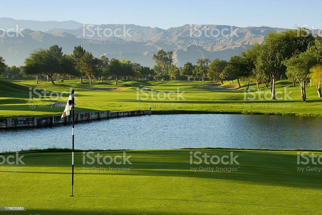 Golf Resort Palm Springs stock photo