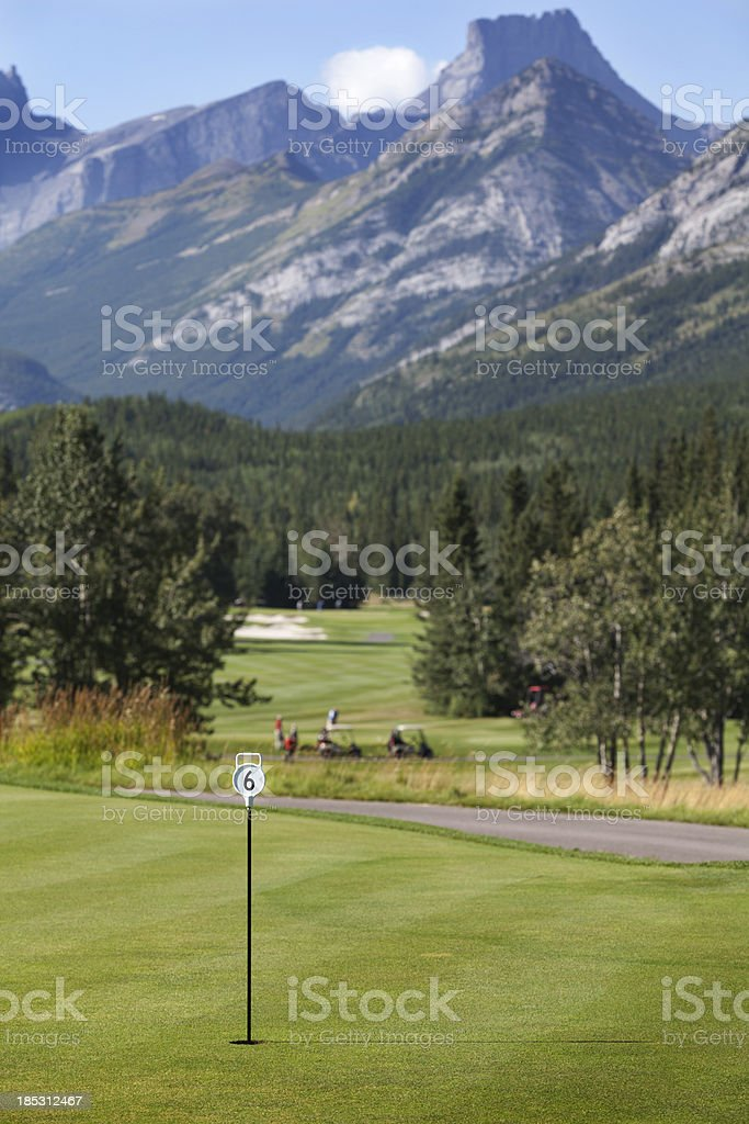 Golf Resort stock photo