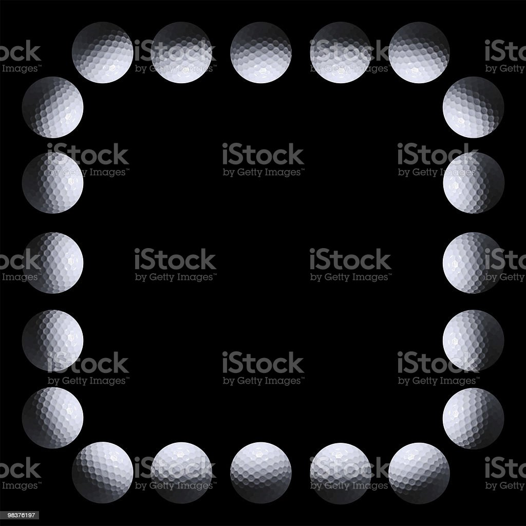 Golf Ring of light royalty-free stock photo