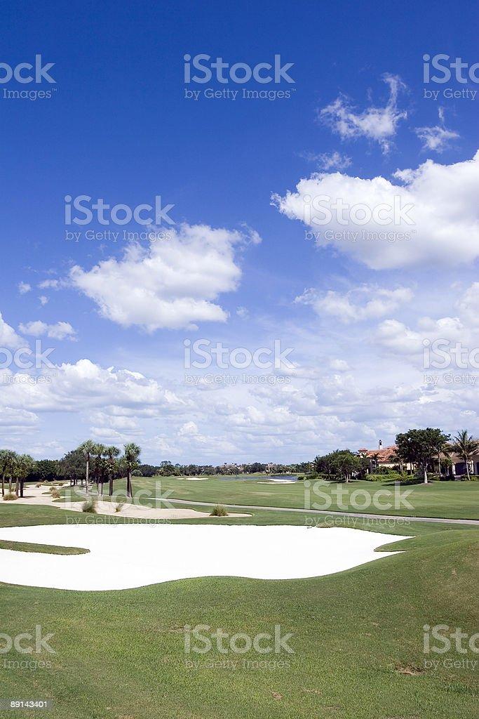 Golf Sand and Sky