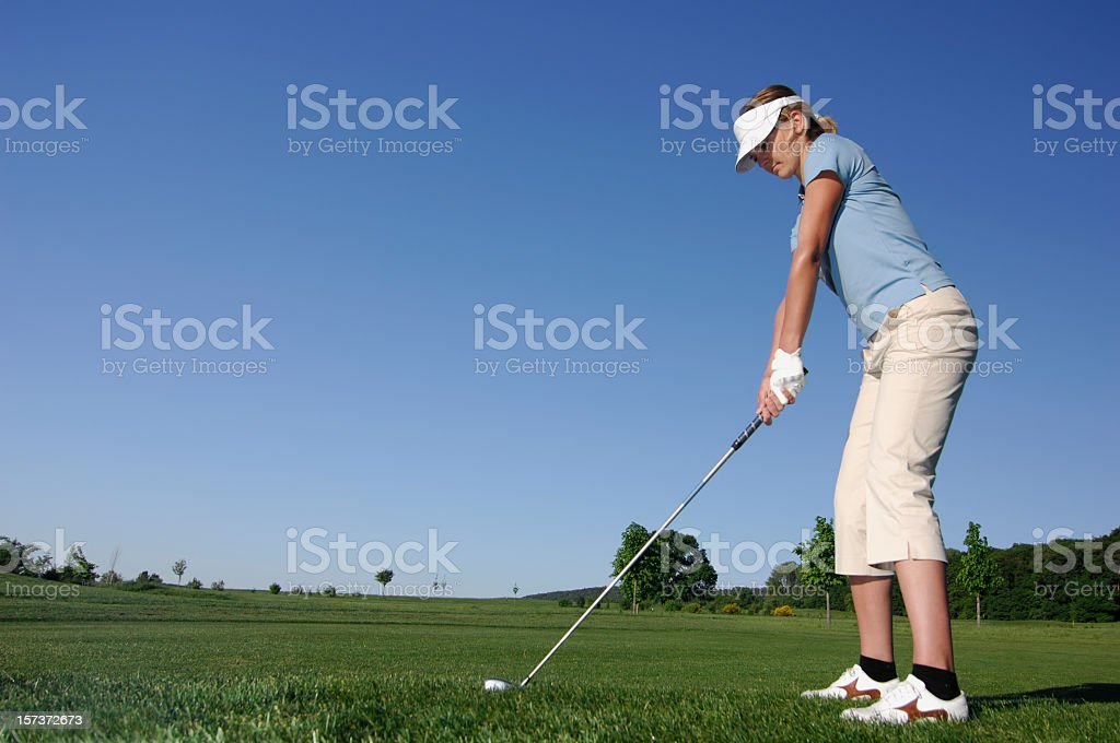 Golf serie royalty-free stock photo