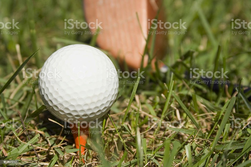 Golf Series royalty-free stock photo