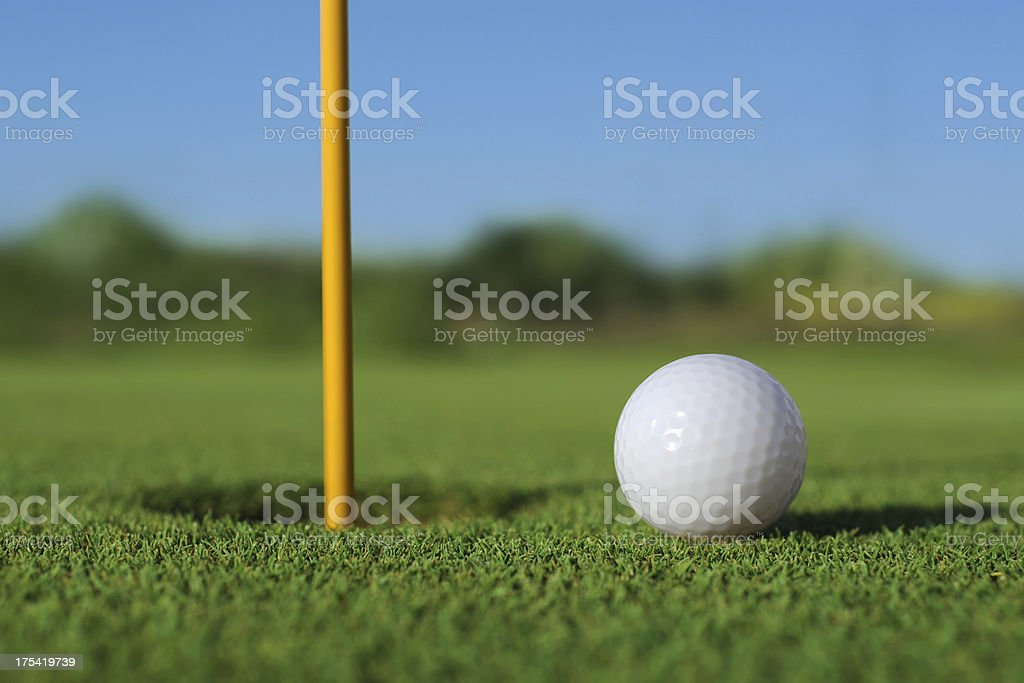 Golf Sport - XLarge stock photo