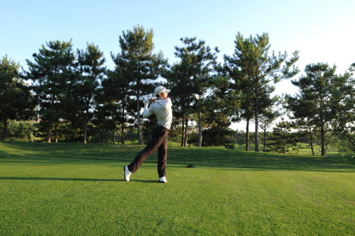 Golf Swing and Teeing Off - XLarge