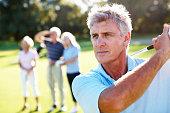 istock Golf swing 117147572