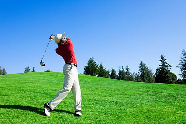 Golf Swing stock photo