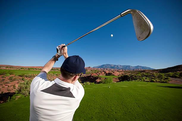 Golfschwung – Foto