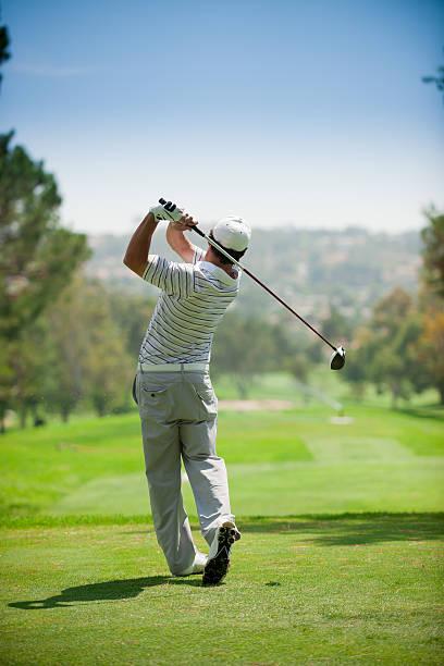 balanço de golfe - balouço imagens e fotografias de stock