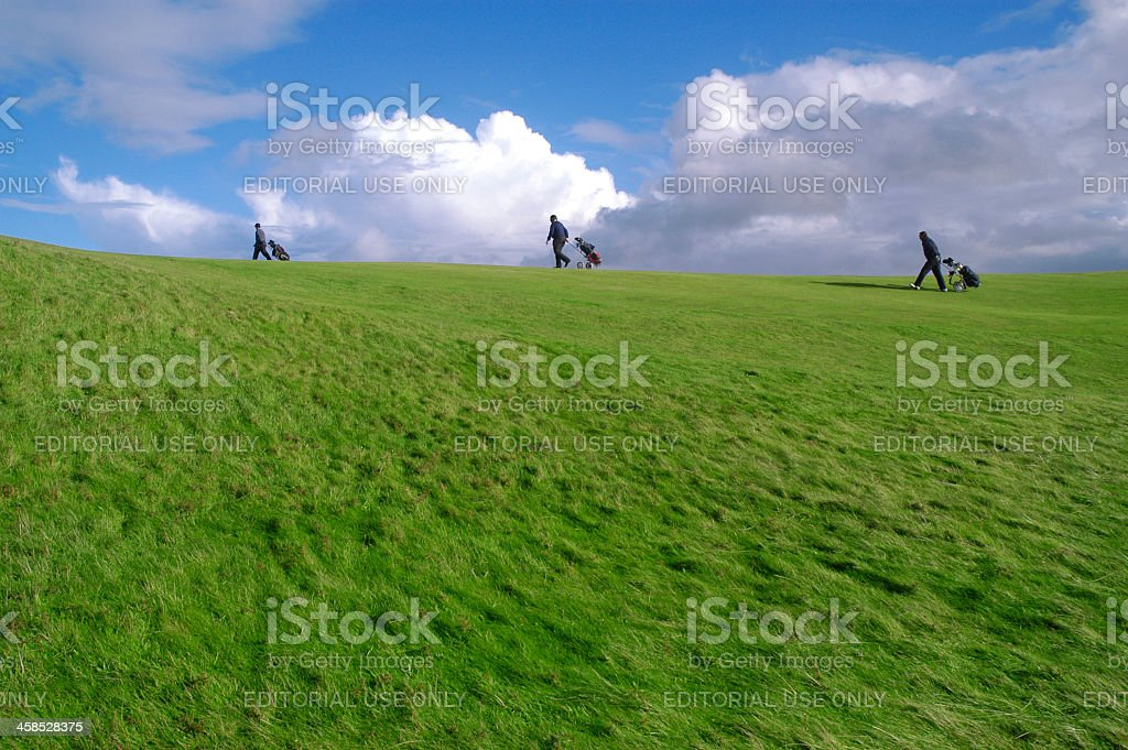 Golf, Turnberry, Scotland stock photo