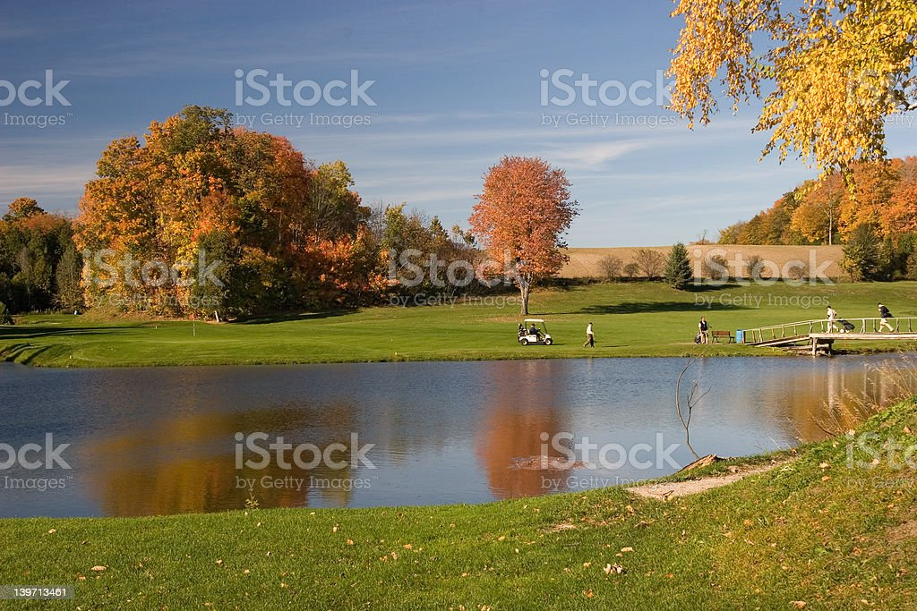 golf view 08 royalty-free stock photo
