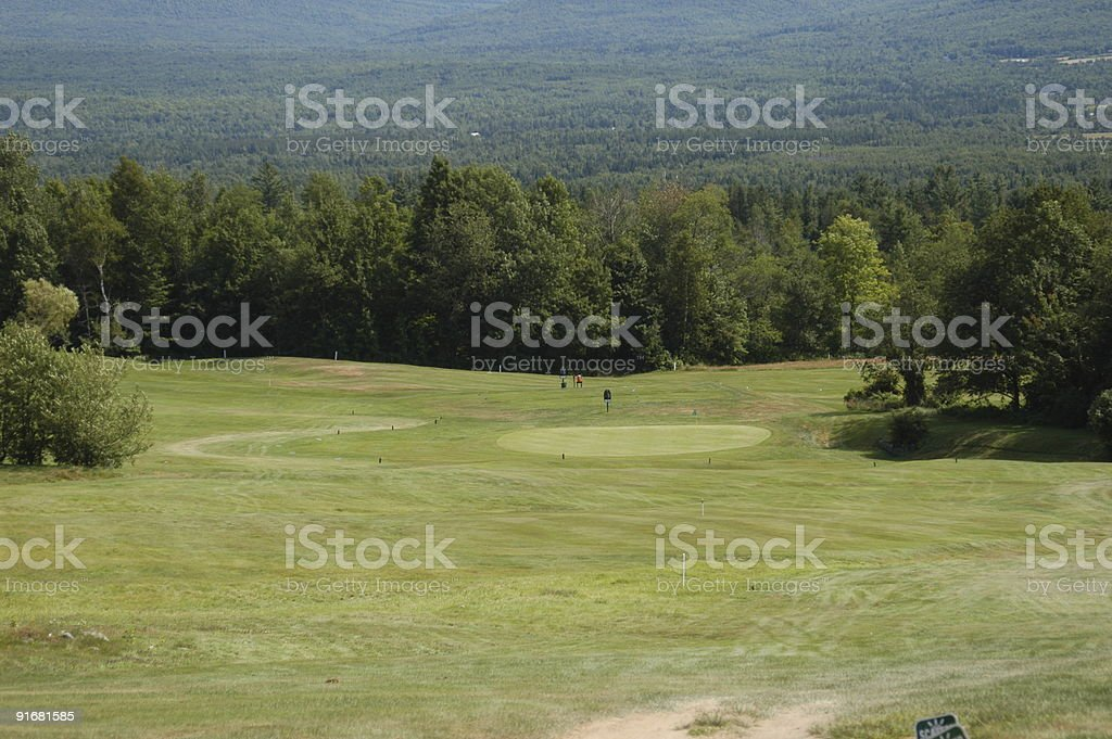 Golf with a view royalty-free stock photo