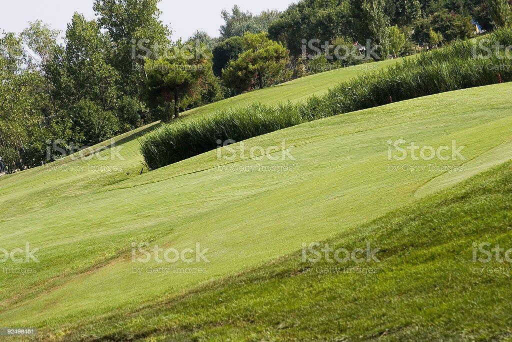 golf yard royalty-free stock photo