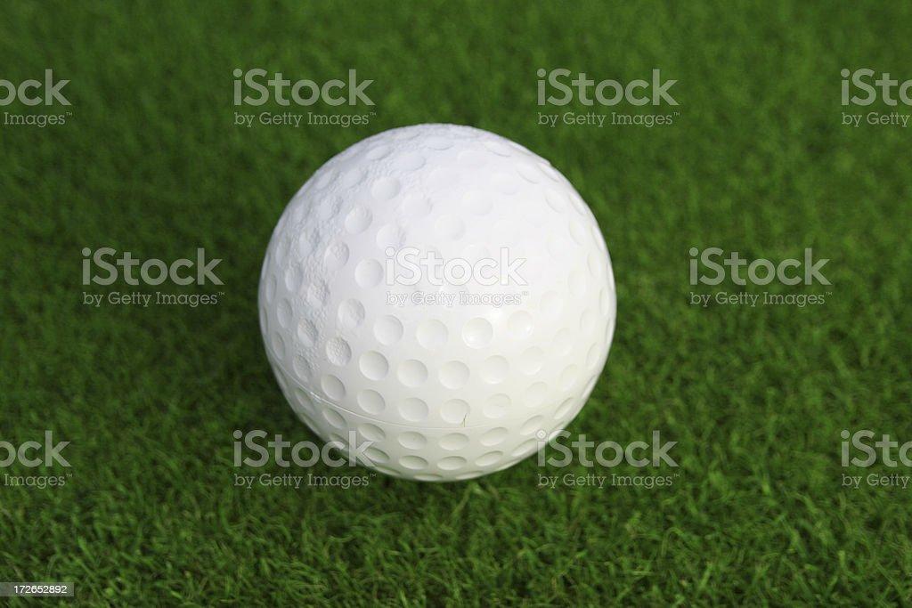 Golfball royalty-free stock photo