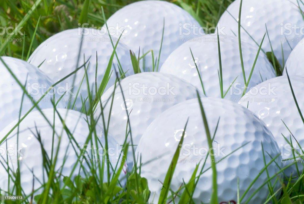golfballs royalty-free stock photo
