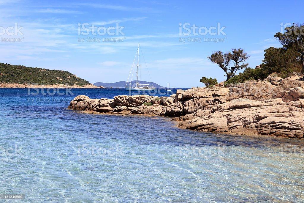Golfe de Porto Novo, Corsica royalty-free stock photo