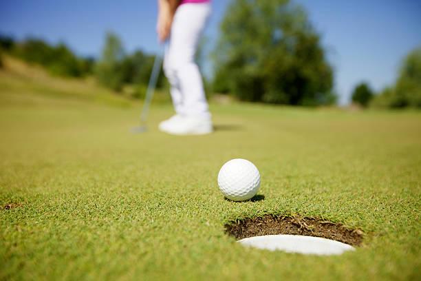 Golfspieler bei einem Spiel – Foto