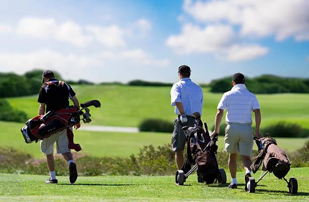 Golfspieler Freunden – Foto