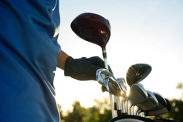 golfer - golf clubs stock photos and pictures