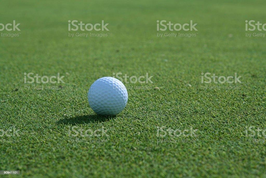 Golfing Green stock photo