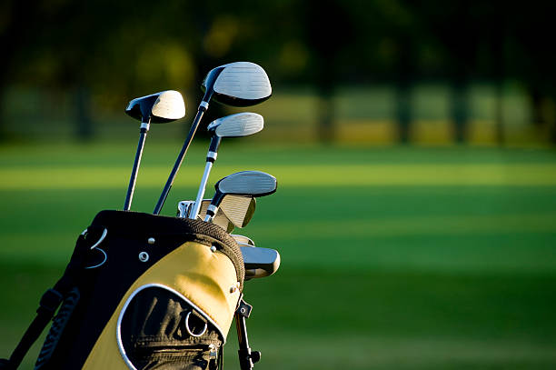 golfing - golf clubs stock photos and pictures