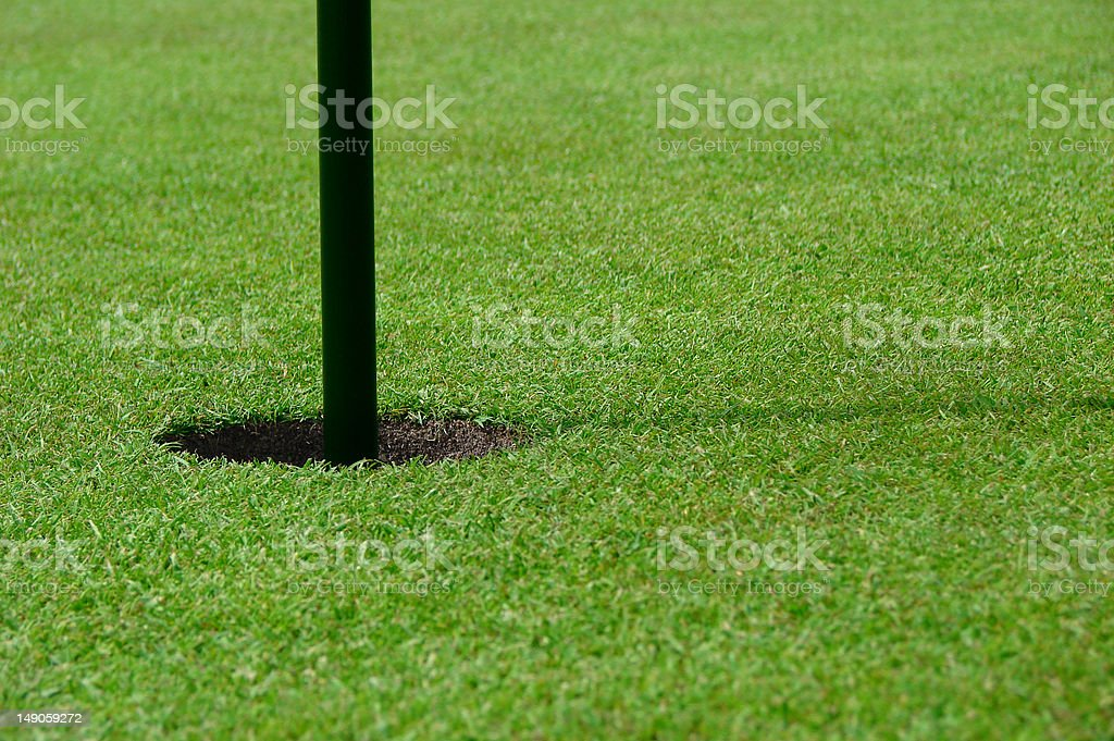golfing royalty-free stock photo