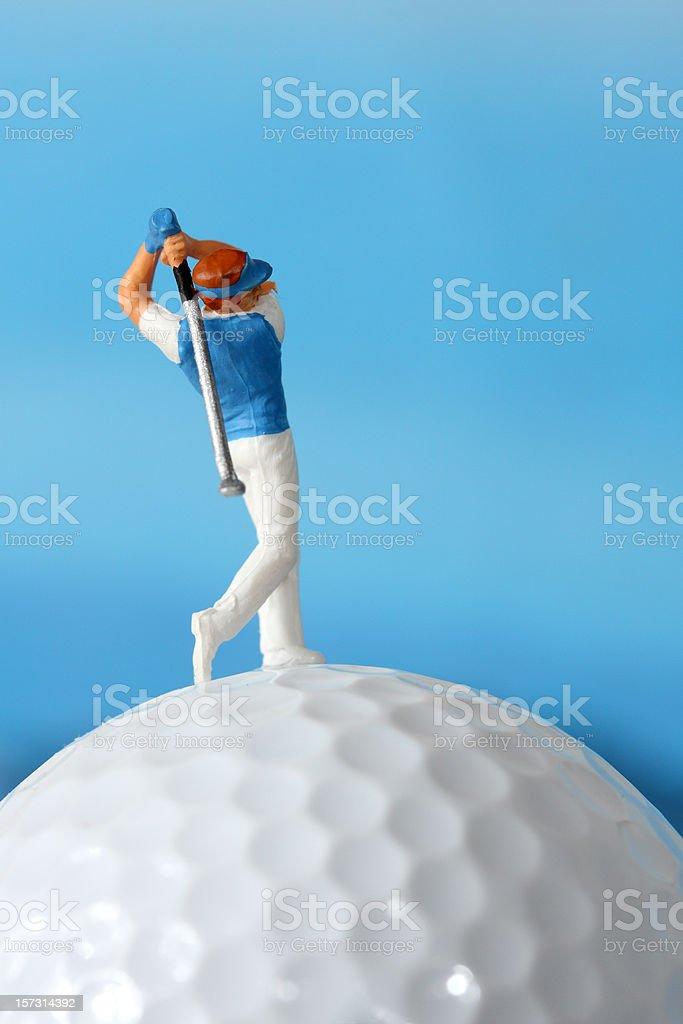 Campos de golf - foto de stock