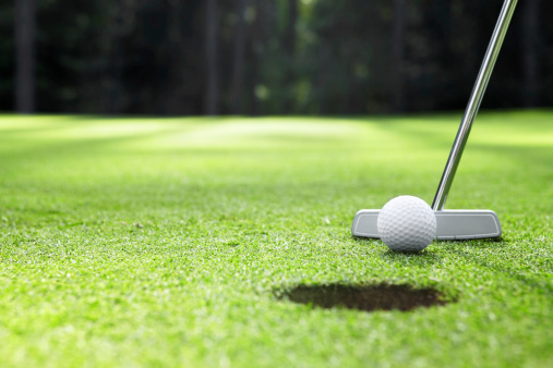 Golfing Stock Photo - Download Image Now