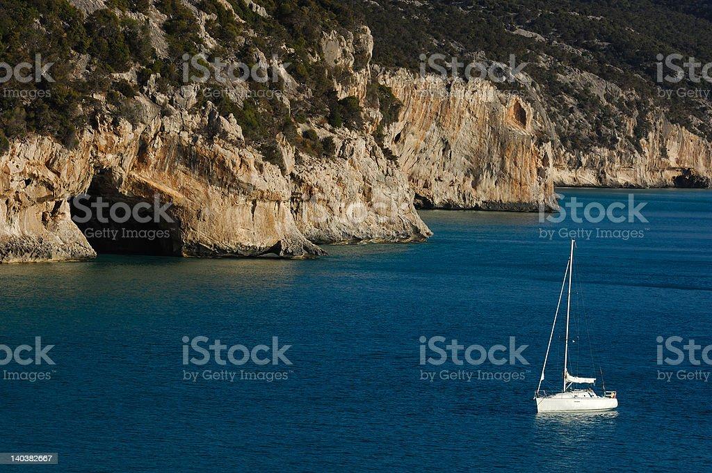Golfo di Orosei royalty-free stock photo