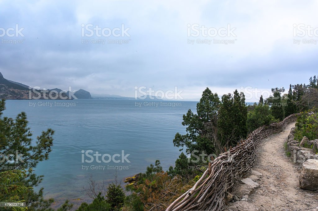 Golitsyn path stock photo