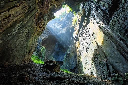Gomantong Cave.