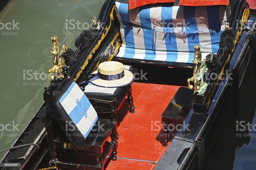 Gondola Detail royalty-free stock photo