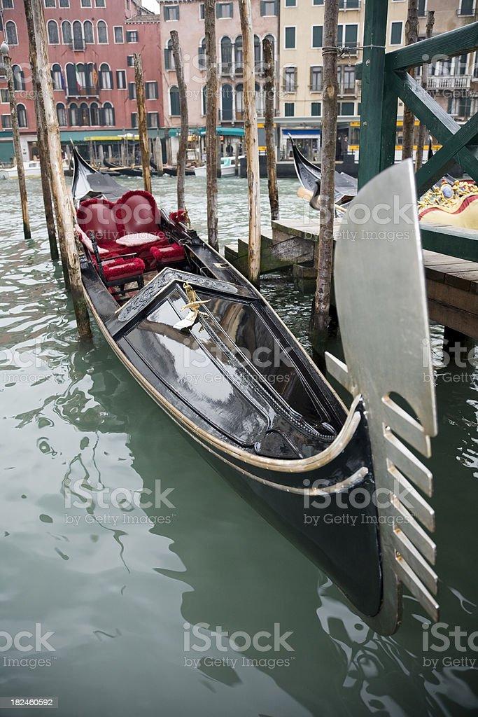 Góndola en Venecia foto de stock libre de derechos