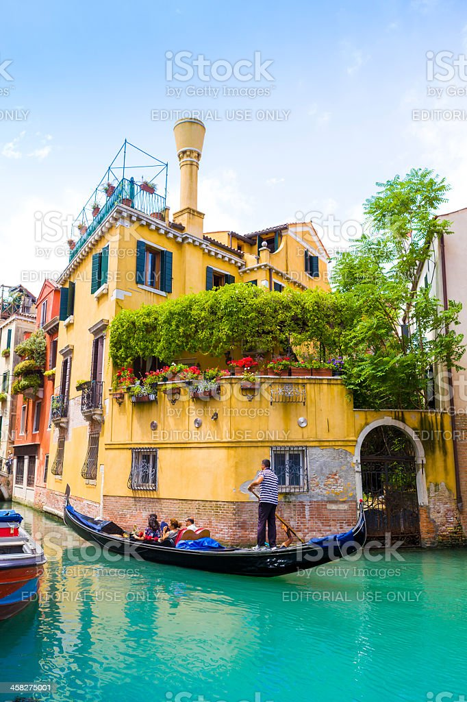 Gondola in Venice royalty-free stock photo