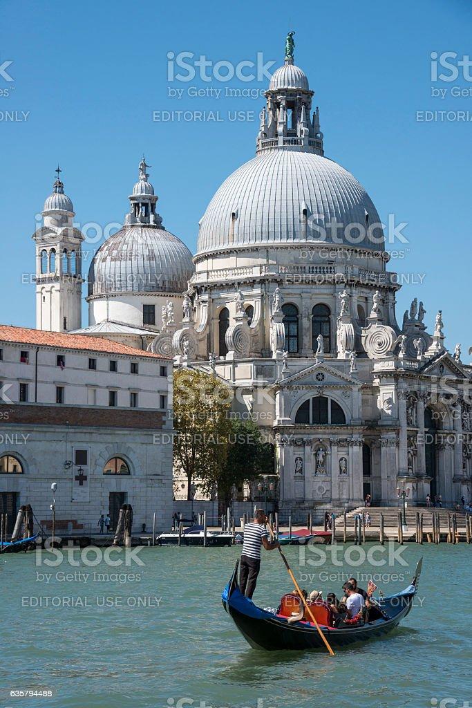 Góndola en Venecia - foto de stock