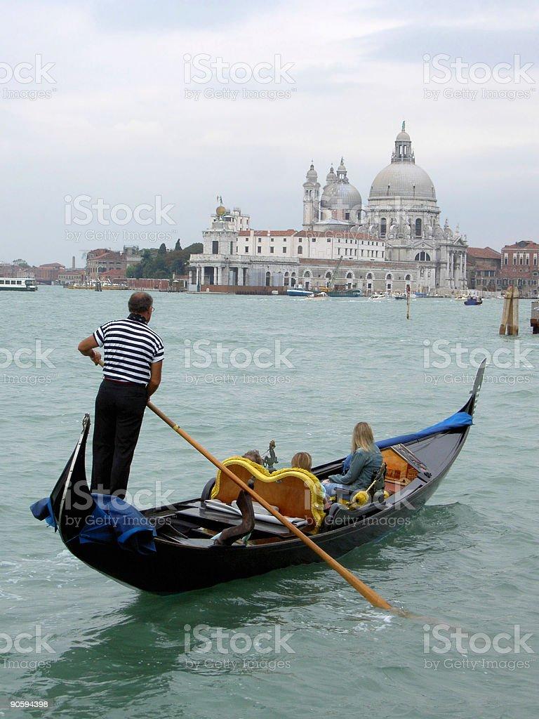 Gondola in Venice royalty-free stock photo