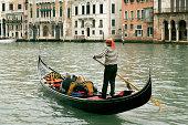 istock Gondola on Grand Canal in Venice, Italy 91211564